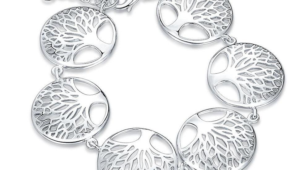 Montelimar 18K White Gold Plated Bracelet