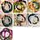 Thumbnail: Unica Rosa Creations 4 sets of Bracelets