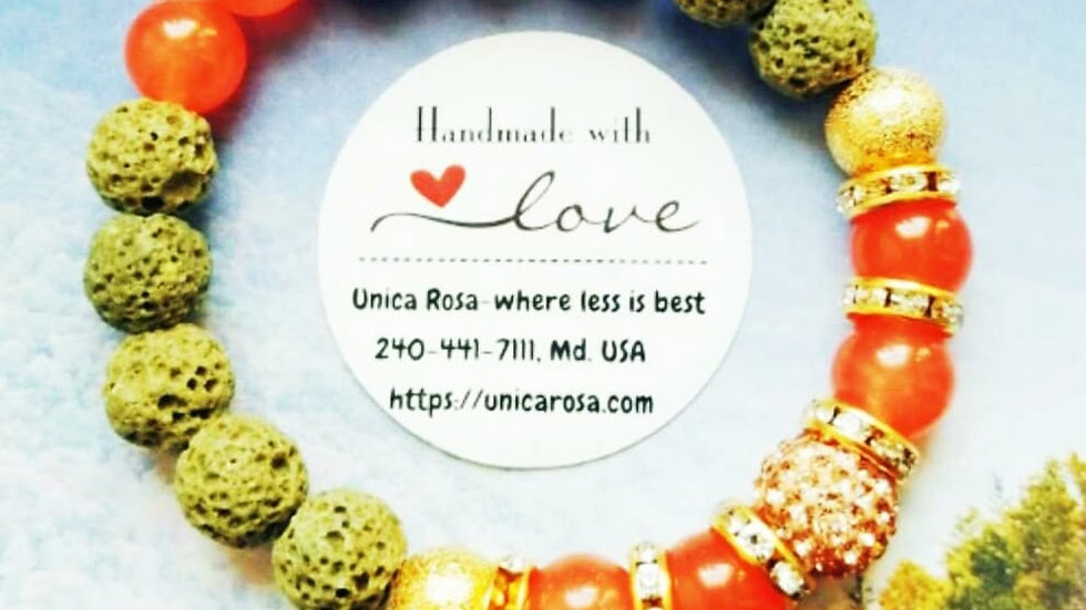 Unica Rosa Gemstone  Collection