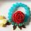 Thumbnail: Blue Leaf  Wooden Bracelet