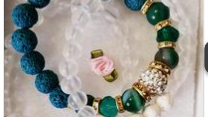 Unica Rosa Creations 4 sets of Bracelets