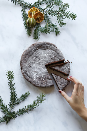 The ultimate winter cake (gluten free)