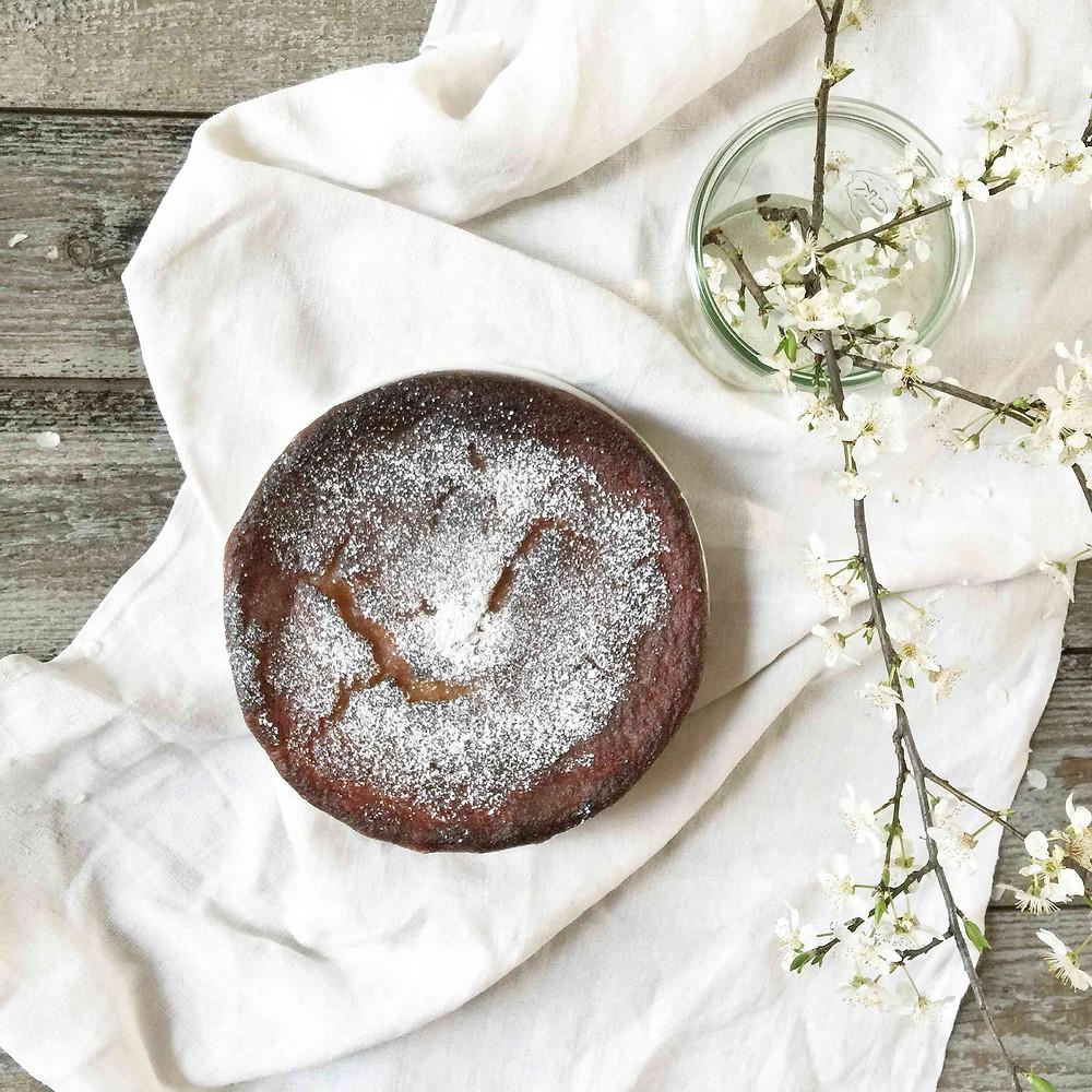 moist pear cake (gâteau moelleux à la poire)