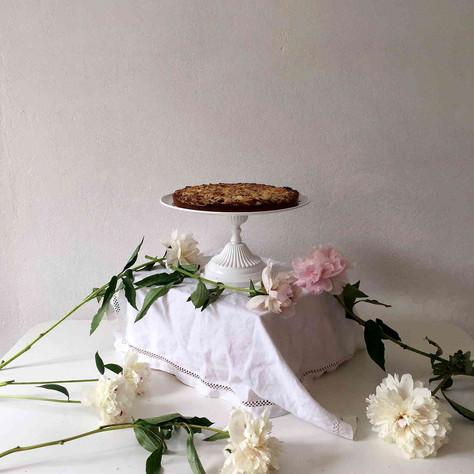 raspberry and almond cake (gâteau aux framboises et aux amandes)