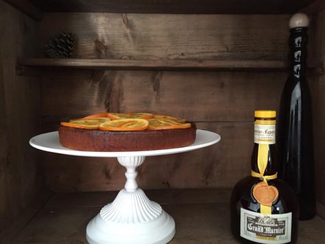 moist orange cake (gâteau moelleux à l'orange)