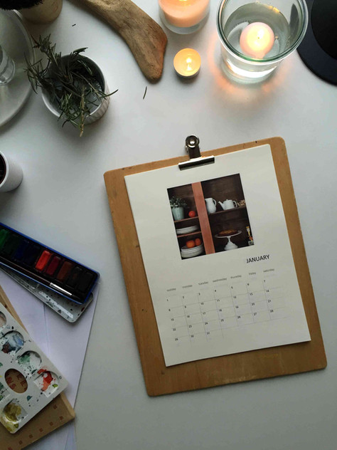 DIY: make your own calendar (DIY : fabriquez votre calendrier)