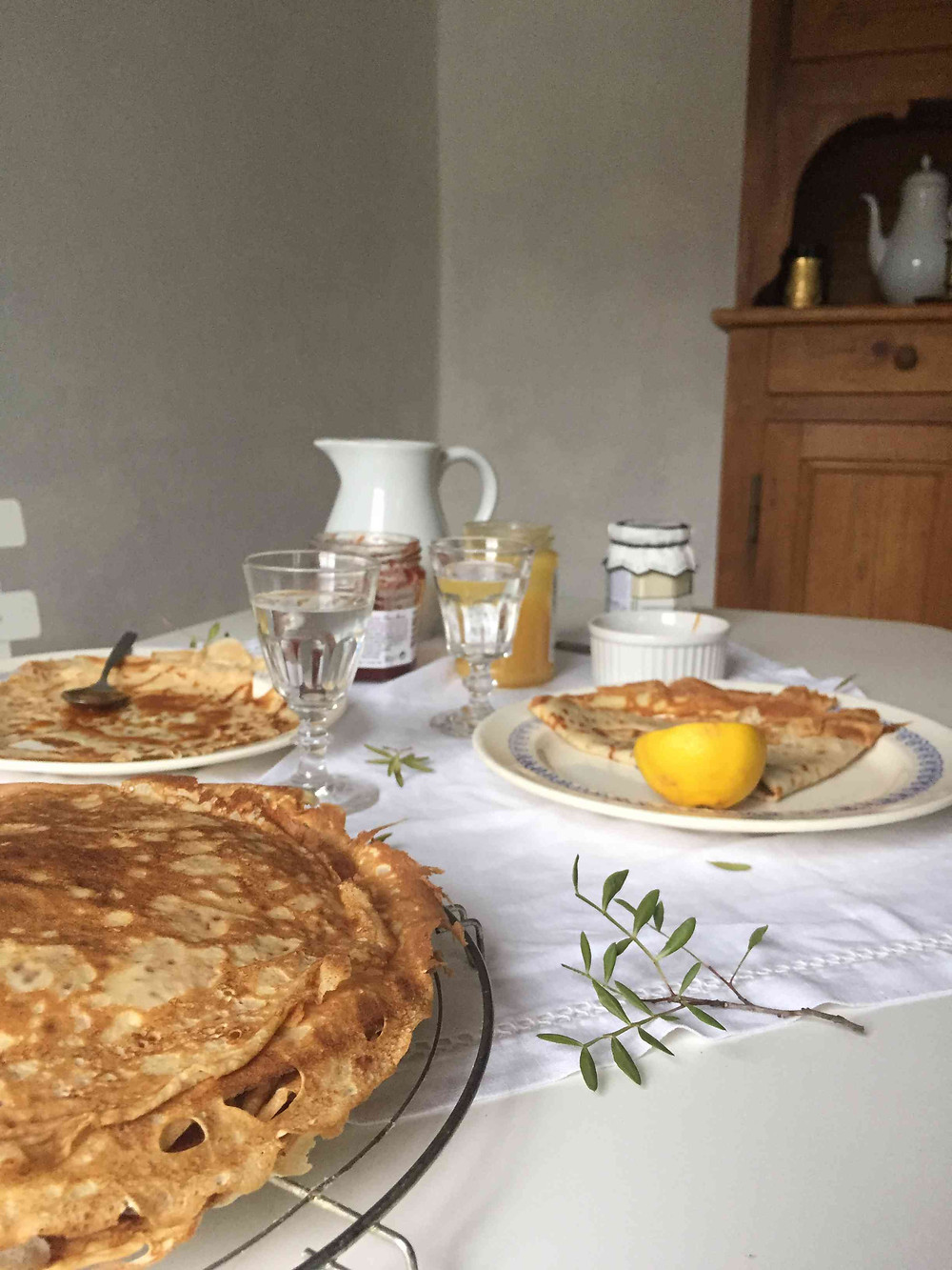 french crêpes (chandeleur)