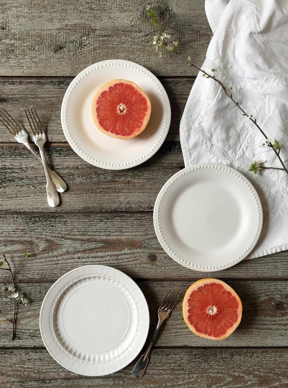 grapefruit tart - tarte au pamplemousse