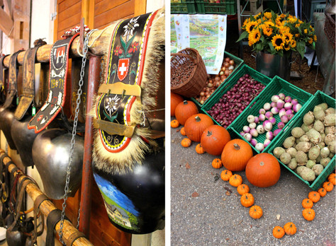 autumn fair and cow bell market