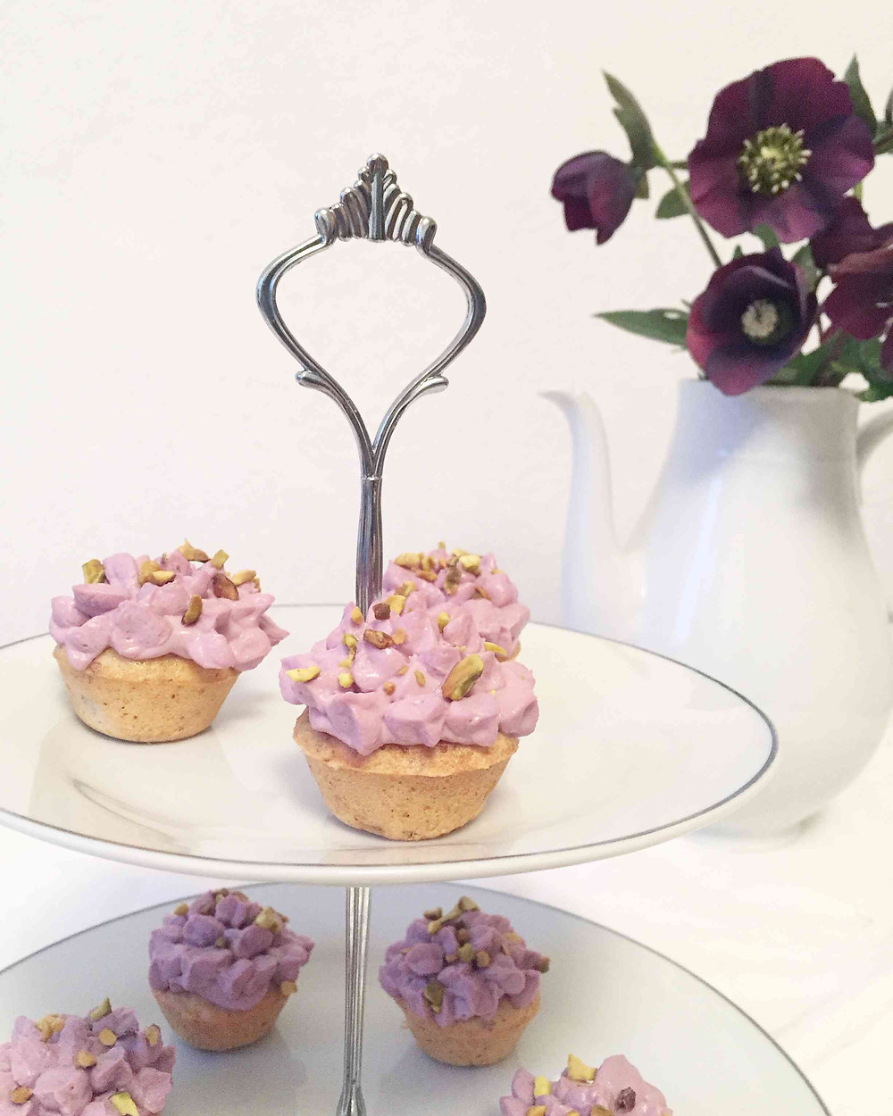 black fruits cupcakes (cupcakes aux fruits noirs)