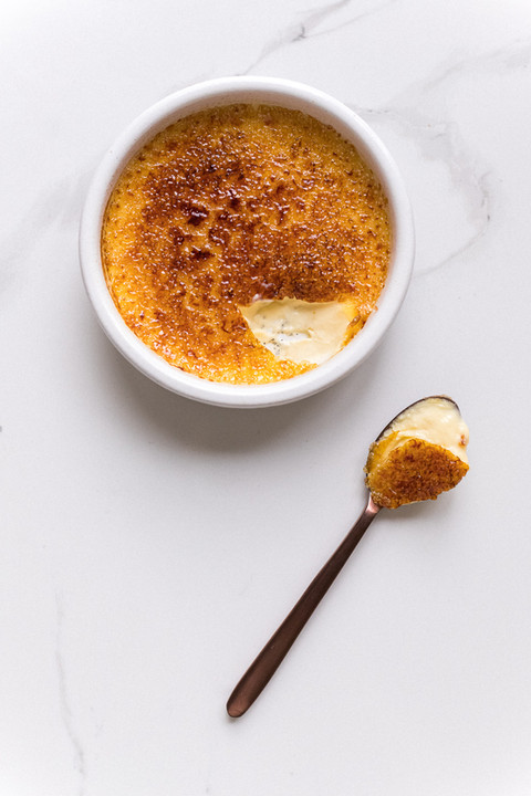 The best French vanilla crème brûlée