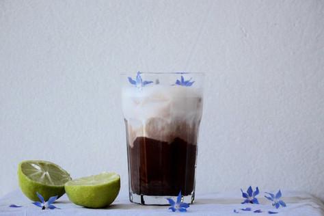 hot n cold, lime n chocolate (chocolat glacé au citron vert)