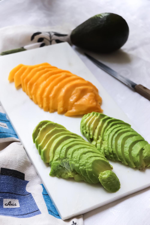 mango and avocado salad - sistersjunction