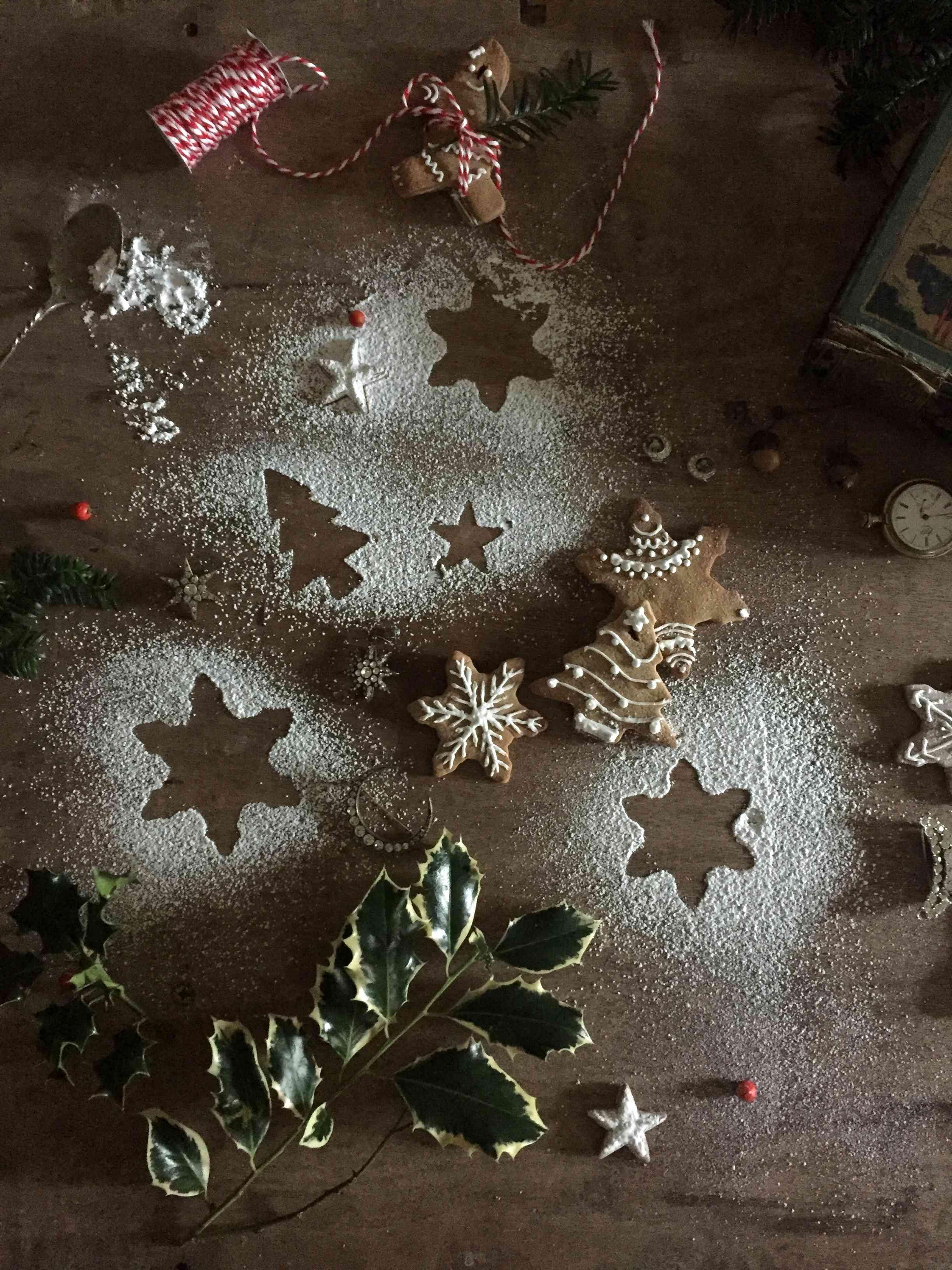 Decoration Biscuit Noel.Diy Christmas Ornated Biscuit Decorations Diy De Noël