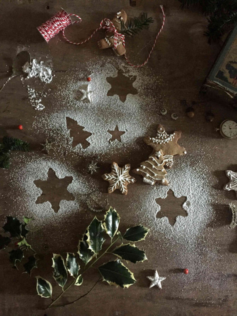 DIY christmas: ornated biscuit decorations (DIY de noël : décorations en biscuit)