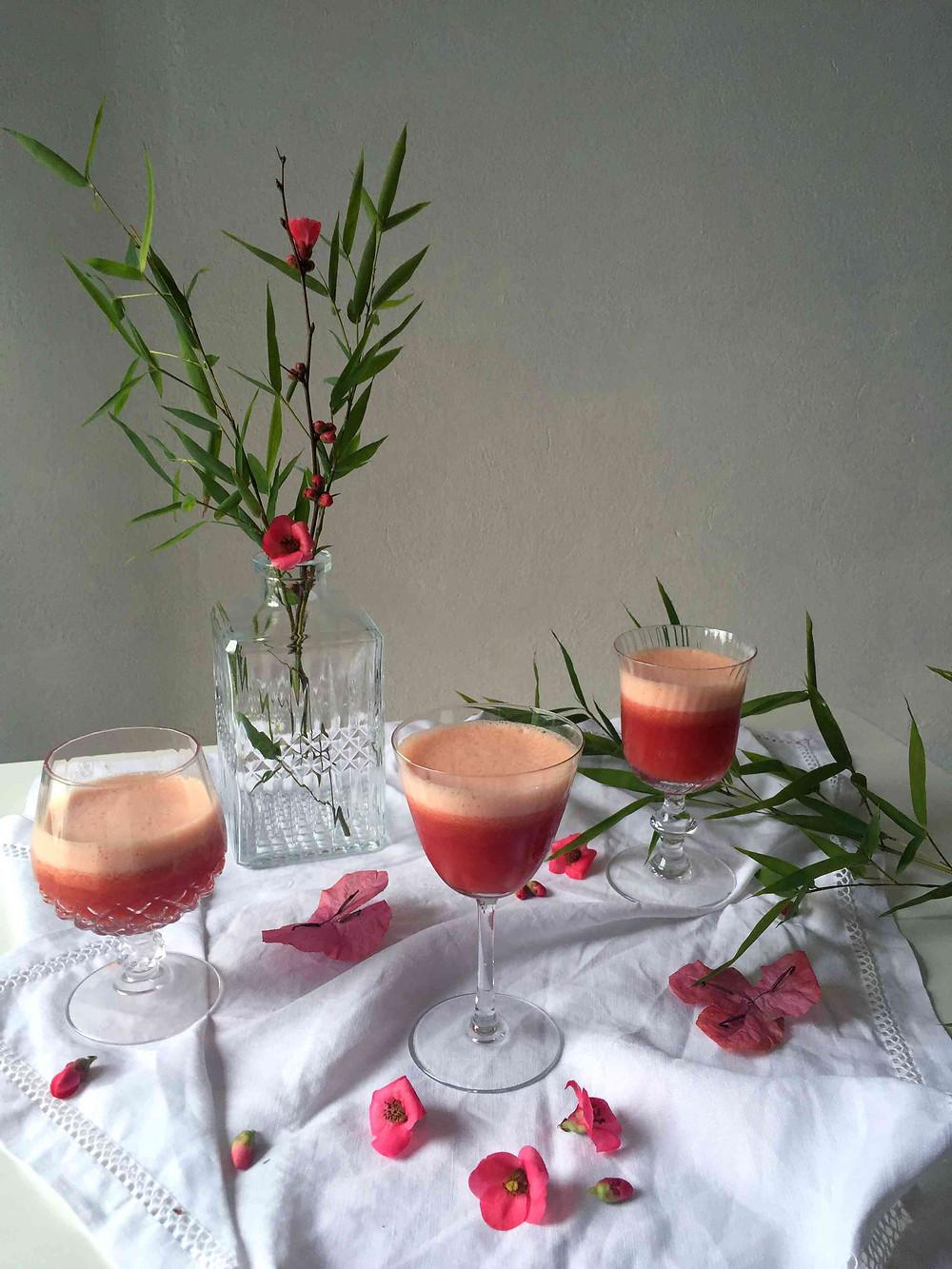 2 bloody good blood orange cocktails! (2 cocktails à l'orange sanguine sacrément bons !)