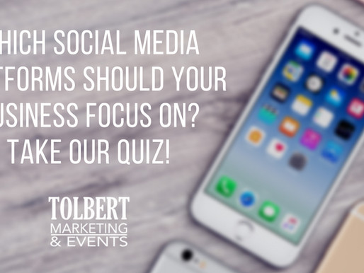 Which Social Media Platforms Should Your Business Focus On? Take Our Quiz!