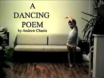 A dancing poem