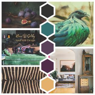 Soul-Style-Design Mood Board - FIne Art Earthy Style.