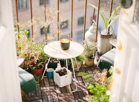 Faça da sua varanda um aposento para todo o ano.