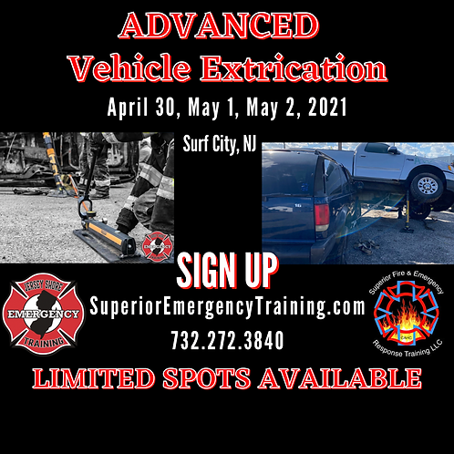 Advanced Vehicle Extrication Course