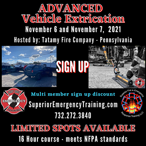 PA Extrication Course