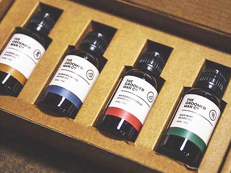 WIX The-Groomed-Man-Co-Beard-Oil-Package