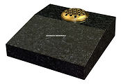 Blue Pearl granite desk tablet