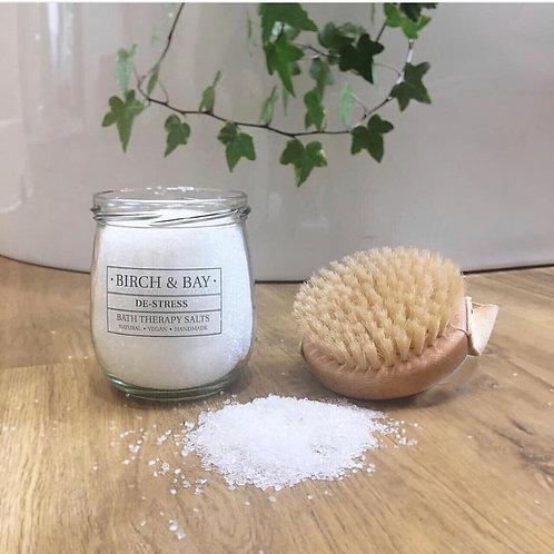 De-Stress Bath Therapy Salts (425ml)
