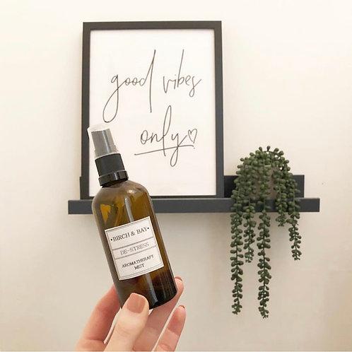 De-Stress Aromatherapy Mist (100ml)