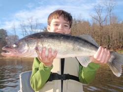 Small man big fish