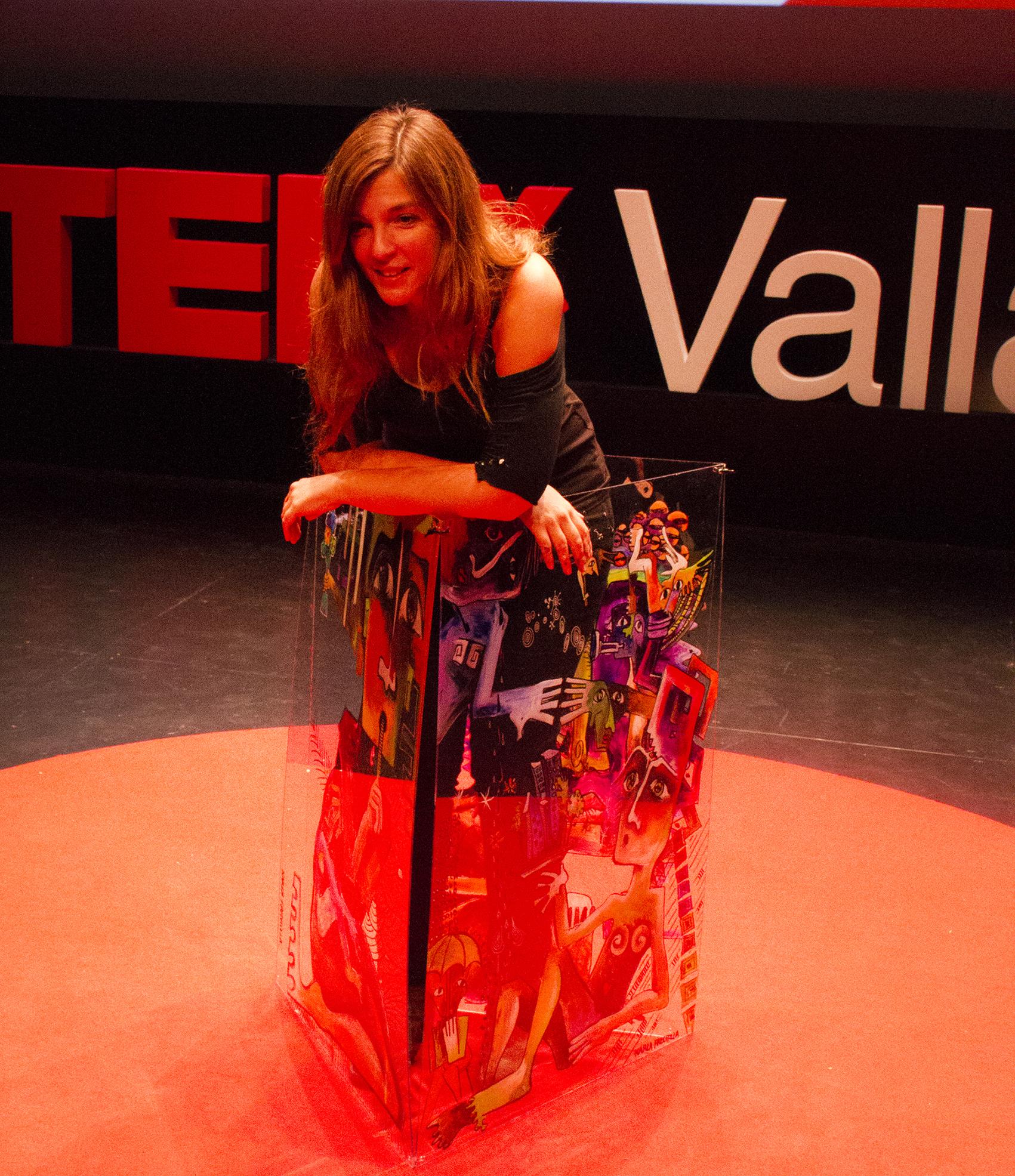 TEDX Valladolid. Karla Frechilla