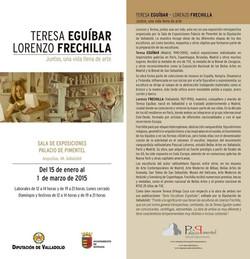 Teresa Eguíbar y Lorenzo Frechilla