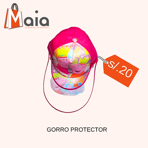 Gorro protector PepaPing