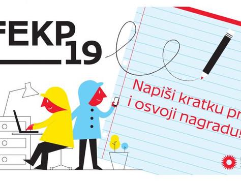 FEKP19 - natječaj za kratku priču za mlade autore