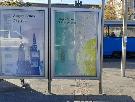Počeo projekt Poezija u gradu 2020. u spomen Augustu Šenoi
