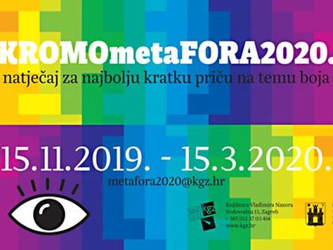 Natječaj KROMOmetaFORA 2020. na temu – boje