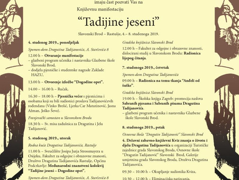 Tadijine jeseni u Slavonskom Brodu