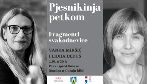 Pjesnikinja petkom: Lidija Deduš i Vanda Mikšić