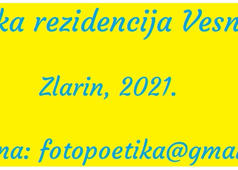 Pjesnička rezidencija Vesna Parun - poziv