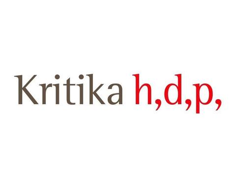 Kritika h,d,p,- portal za književnost i kritiku