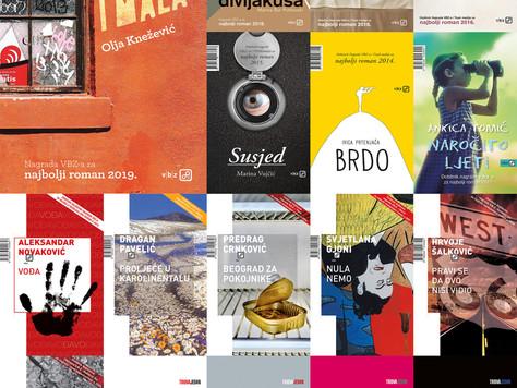 Raspisan natječaj za 17. nagradu V.B.Z.-a za najbolji neobjavljeni roman