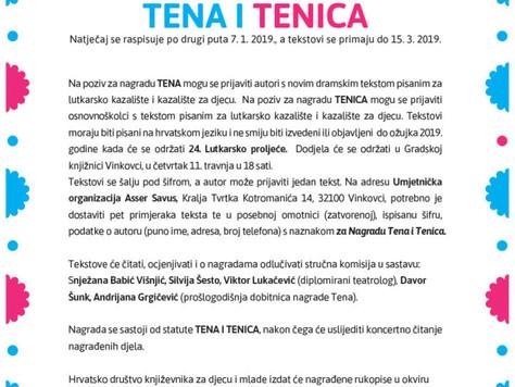 Natječaj Tena i Tenica 2