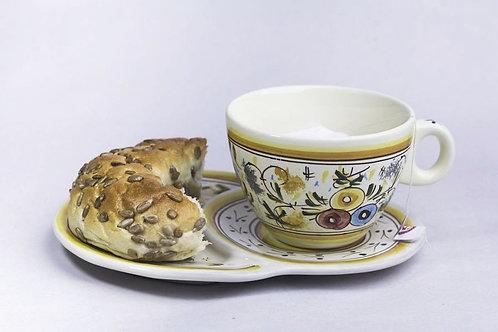 Ceasca cu Platou (ceramica traditionala)