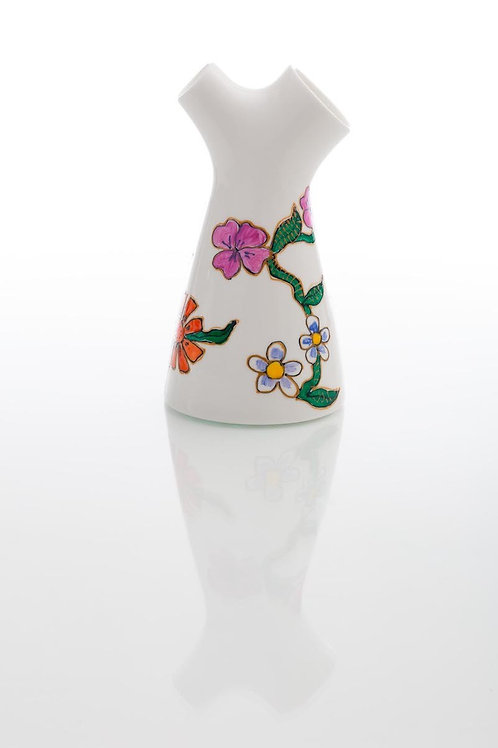 Vaza Pictata Bi-florala Mare