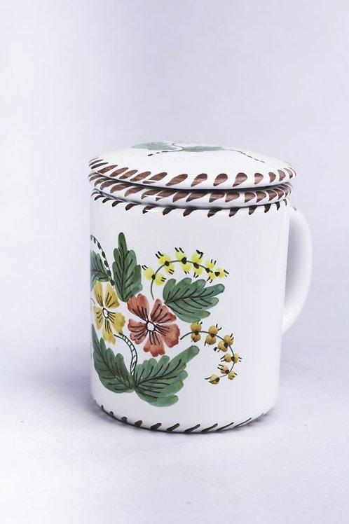 Cana cu Infuzor (ceramica traditionala)