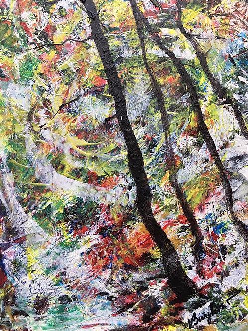 Pădure misterioasă