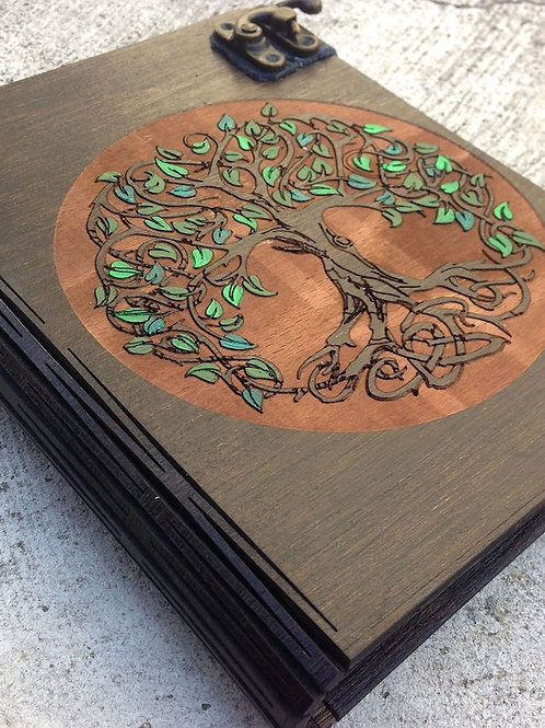 Agenda Lemn Tree of Life