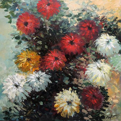 Floral 3: Garden Chrysanthemums