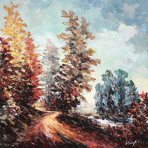 (3/4) 4 Seasons: Autumn Pathway